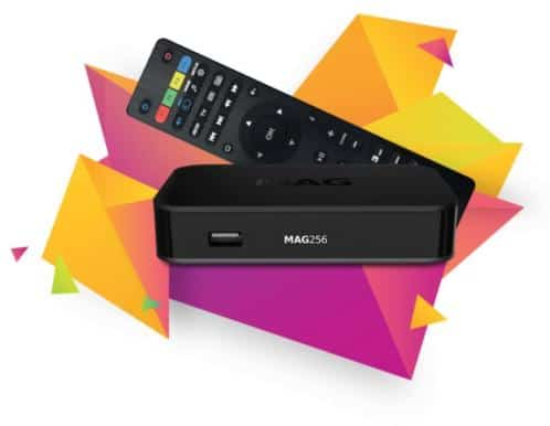 MAG 256 IPTV Set-Top box